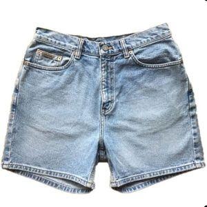 Vintage Calvin Klein High Waisted Mom Jean Shorts